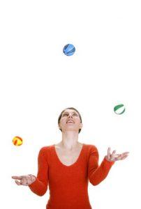 להטוטי ג'אגלינג כטיפול בהפרעות קשב וריכוז